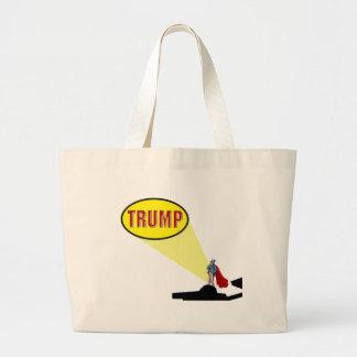president trump large tote bag