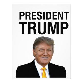 President Trump Letterhead