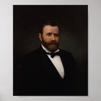President Ulysses Grant Painting Poster