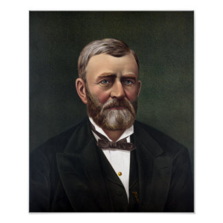 President Ulysses S. Grant -- American History Poster