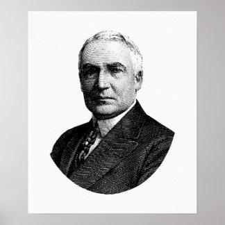 President Warren G. Harding Poster