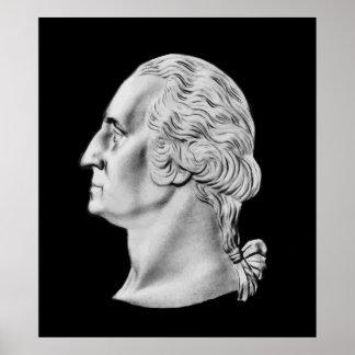 President Washington Bust Poster