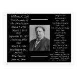 President William H Taft Postcards