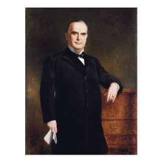 President William McKinley by August Benziger 1897 Post Cards