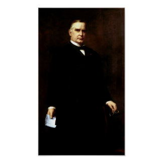 President William McKinley Painting Posters