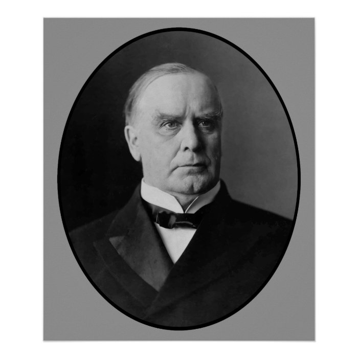 presidential outline william mckinley The 1896 us election were contested on the backdrop of the struggling united states economy it saw the victory of republican candidate william mckinley over democrat william jennings bryan, to become the 25th president of the united states gareth a hobart became the vice president.