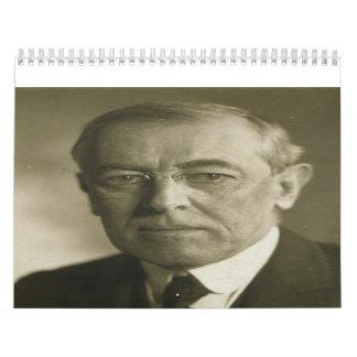 President Woodrow Wilson Portrait 1919 Wall Calendars