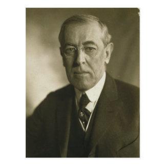 President Woodrow Wilson Portrait 1919 Postcard