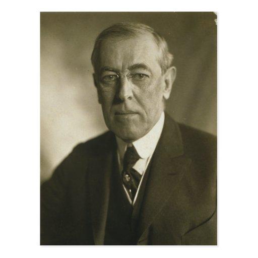President Woodrow Wilson Portrait 1919 Post Cards