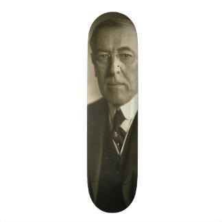 President Woodrow Wilson Portrait 1919 Skateboard Deck