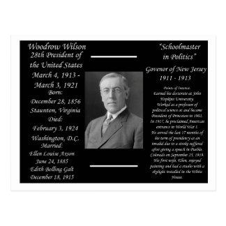 President Woodrow Wilson Postcard