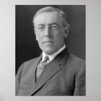 President Woodrow Wilson Poster