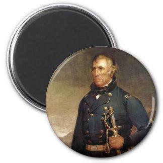 President Zachary Taylor by Joseph Henry Bush 2 Inch Round Magnet