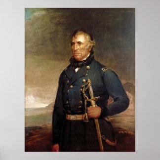 President Zachary Taylor by Joseph Henry Bush Poster