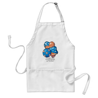 "President Zero formerly known as ""The One"" Adult Apron"