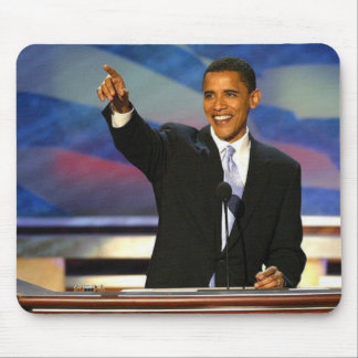 PresidentBarakObama4 Mouse Pad
