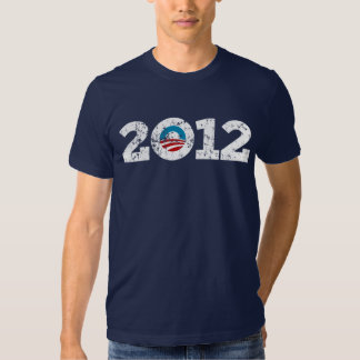 Presidente 2012 Barack Obama Remera