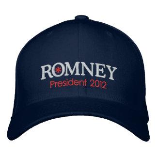 Presidente 2012 de Mitt Romney Gorra Bordada