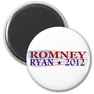 Presidente 2012 de ROMNEY RYAN Imán Redondo 5 Cm