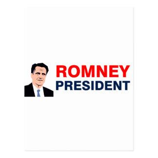 Presidente 2012 de Romney Postal