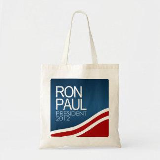 Presidente 2012 de Ron Paul Bolsa Tela Barata