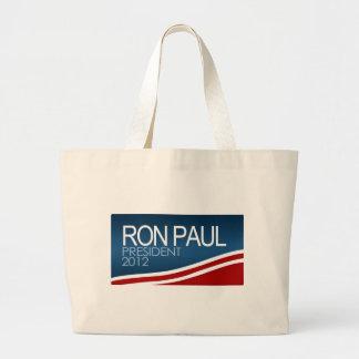 Presidente 2012 de Ron Paul Bolsas De Mano