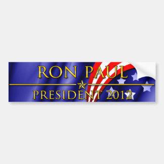 Presidente 2012 de Ron Paul Pegatina Para Auto