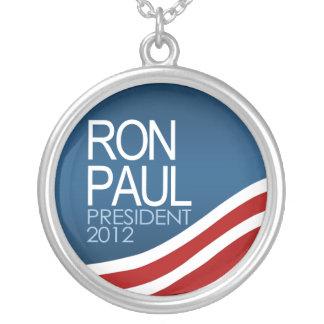 Presidente 2012 de Ron Paul Colgante Redondo