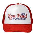 Presidente 2012 de Ron Paul Gorras De Camionero