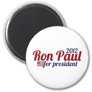 Presidente 2012 de Ron Paul Imán De Frigorifico
