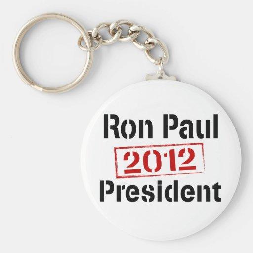 Presidente 2012 de Ron Paul Llavero