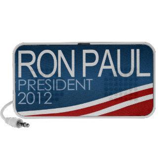 Presidente 2012 de Ron Paul Mp3 Altavoces