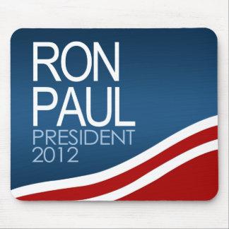 Presidente 2012 de Ron Paul Alfombrilla De Ratones