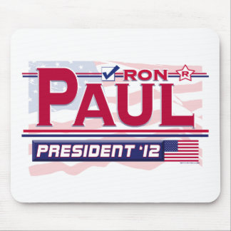Presidente 2012 de Ron Paul Tapetes De Raton