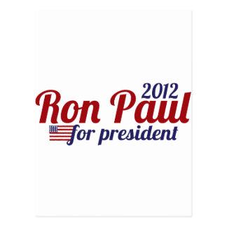Presidente 2012 de Ron Paul Postal