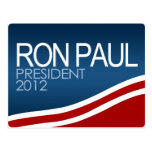 Presidente 2012 de Ron Paul Tarjeta Postal