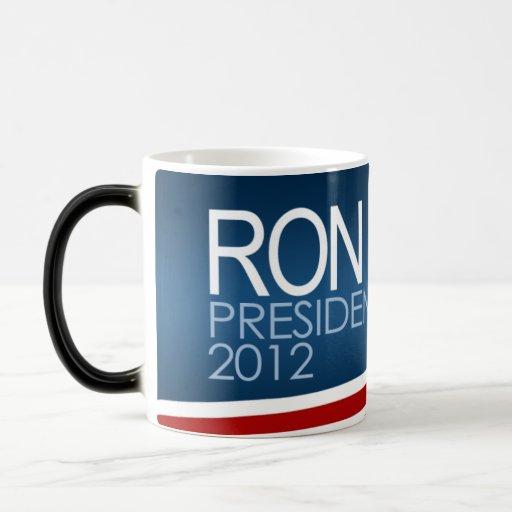 Presidente 2012 de Ron Paul Taza