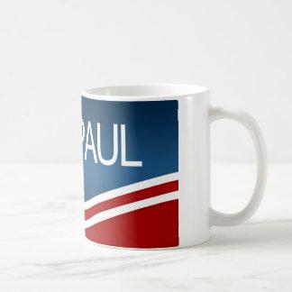 Presidente 2012 de Ron Paul Tazas De Café