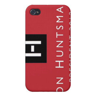 Presidente 2012 del Huntsman de Jon iPhone 4 Cobertura