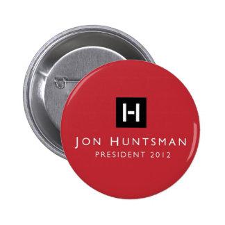 Presidente 2012 del Huntsman de Jon Pin Redondo De 2 Pulgadas