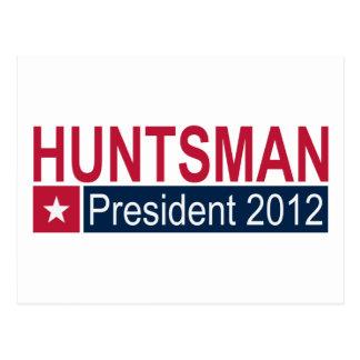 Presidente 2012 del Huntsman de Jon Postales