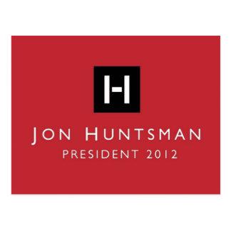 Presidente 2012 del Huntsman de Jon Tarjetas Postales
