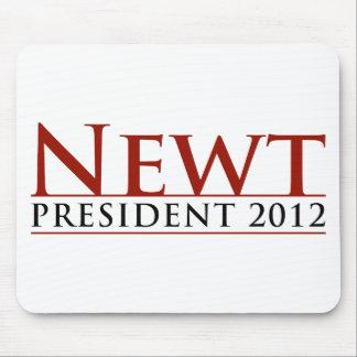 Presidente 2012 del Newt Alfombrillas De Ratón