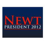 Presidente 2012 del Newt Postal