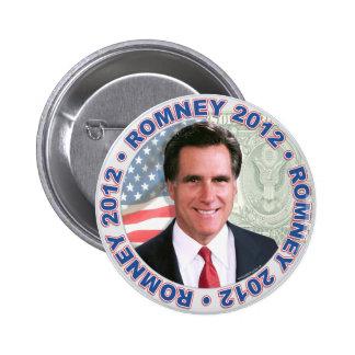 Presidente 2012 engranaje de Mitt Romney Pin Redondo De 2 Pulgadas