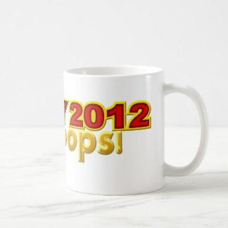 Presidente 2012 Oops diseño de Perry Taza Clásica