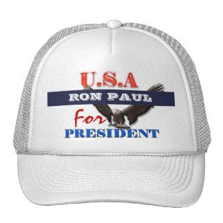 Presidente 2012 PERSONALIZAR de Ron Paul Gorras
