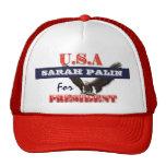 Presidente 2012 PERSONALIZAR de Sarah Palin Gorro De Camionero