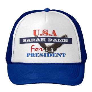 Presidente 2012 PERSONALIZAR de Sarah Palin Gorras
