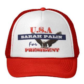 Presidente 2012 PERSONALIZAR de Sarah Palin Gorro